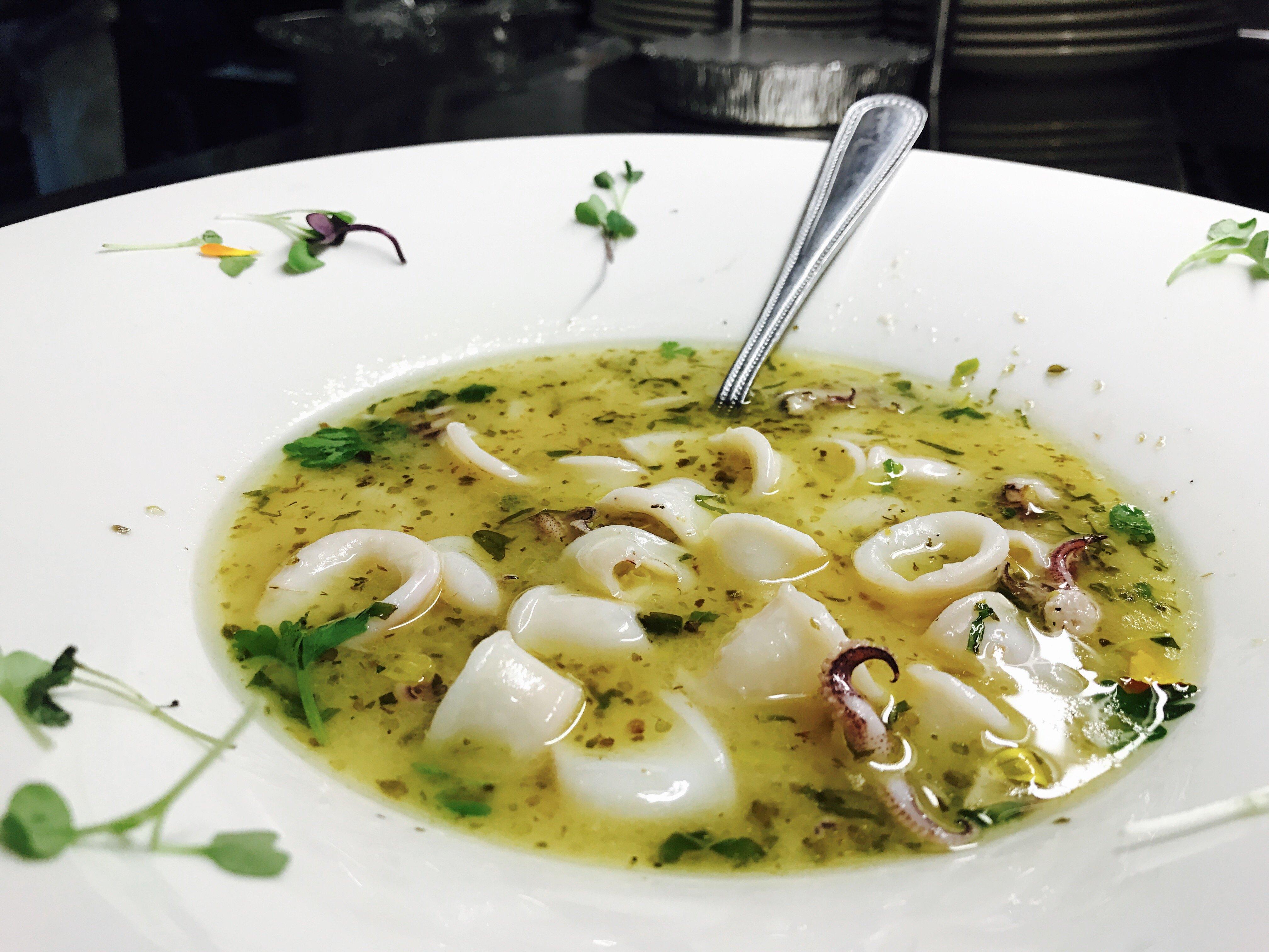 Calamari al Guazzetto